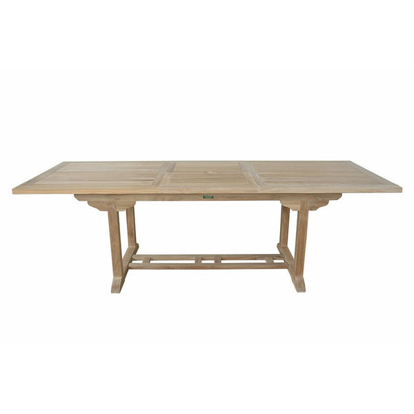 Anderson Teak Bahama 8-Foot Rectangular Extension Table - American Teak