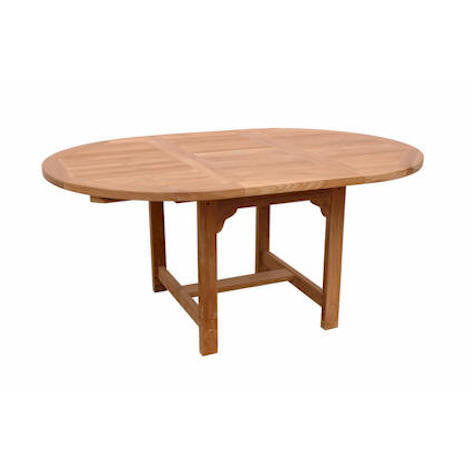 "Anderson Teak Bahama 67"" Oval Extension Table - American Teak"