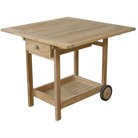 Anderson Teak Danica Serving Table Trolley - American Teak