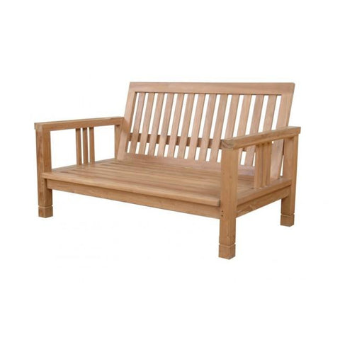 Anderson Teak Southbay Deep Seating Love Seat DS-3012 - American Teak