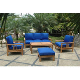 Anderson Teak Southbay Deep Seating Ottoman DS-3016 - American Teak