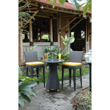 Anderson Teak 3 Piece Portofino Patio Bar Dining Set SR-025 - American Teak
