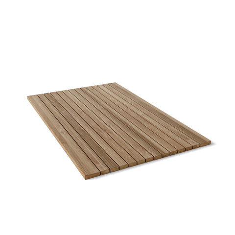 Rectangular Shower Mat Roll It & Go! - American Teak