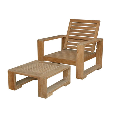 Capistrano 2-Piece Deep Seating Collection - American Teak