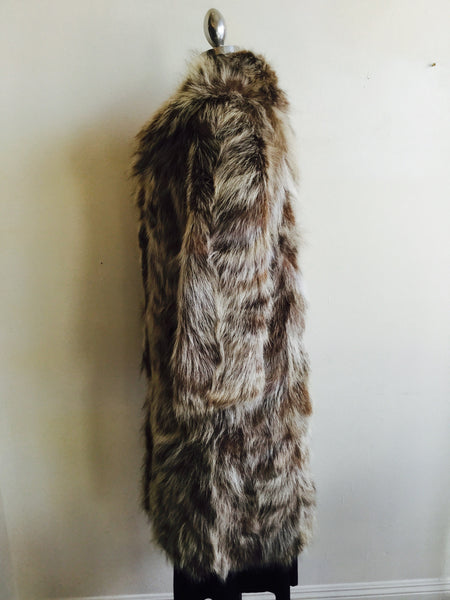 long hair  goat fur coat