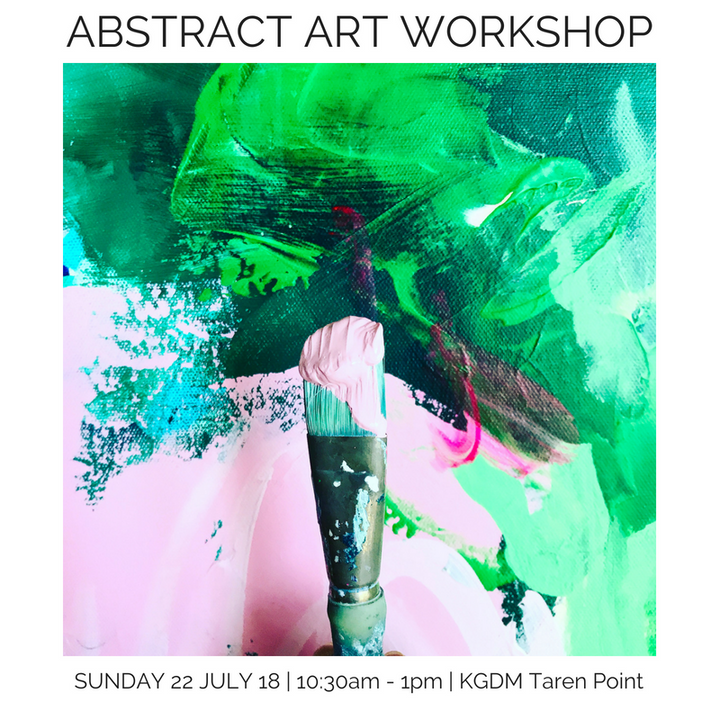 Abstract Acrylic Workshop | Sunday 22.07.18 10:30 - 1pm
