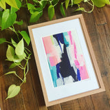 "Framed""Garden of Enid"" Fine Art Print"