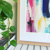 "Framed""Winter Garden"" Fine Art Print"