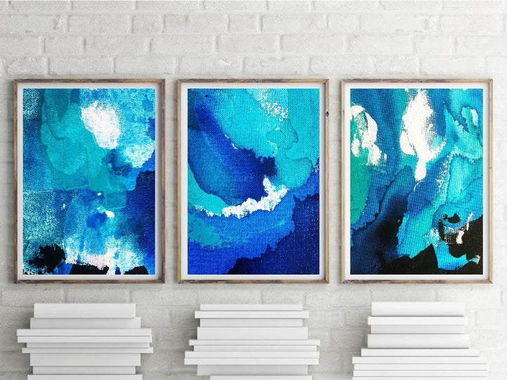 Shelly Beach Print Trio
