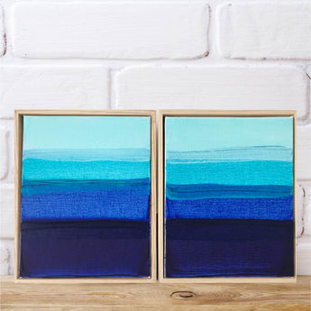 Palm Cove | Set of 2 | FRAMED