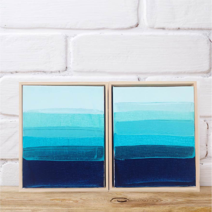South Cronulla Sunset | Set of 2 | FRAMED
