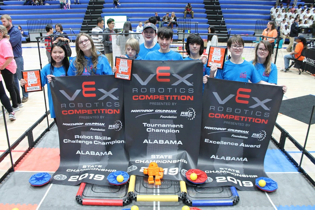 Meridianville Middle School VEX Robotics – National Space Club