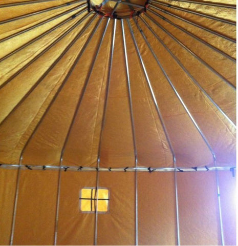 16ft Armstrong Galvanized Steel Yurt Tent