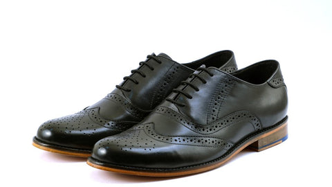Formal brogues for Monday