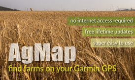 AgMap for Garmin GPS