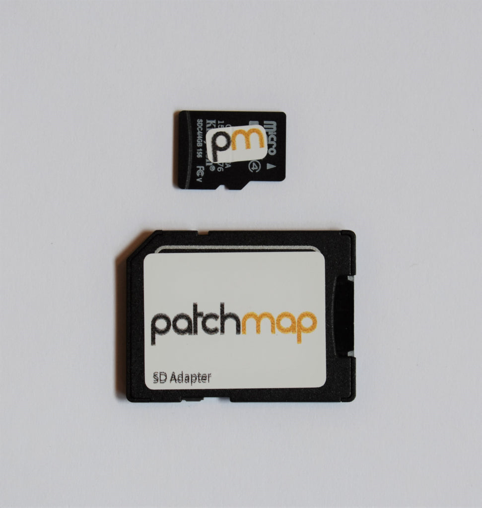 PatchMap for Garmin GPS