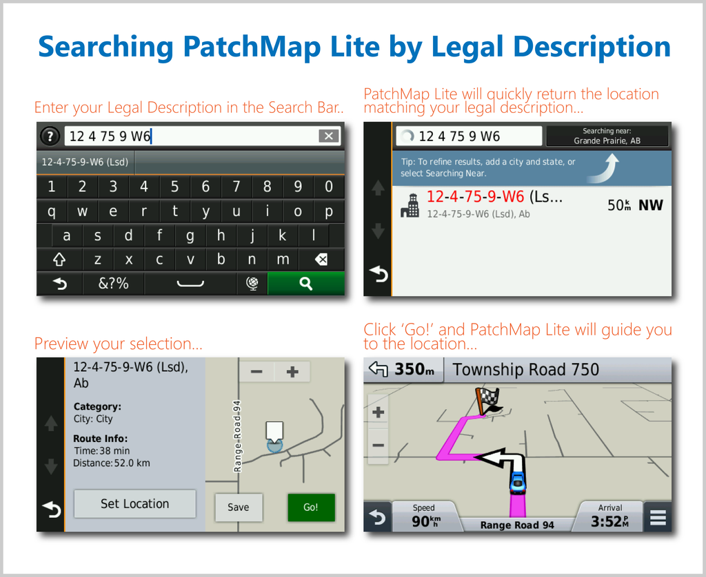 PatchMap Lite for Garmin GPS