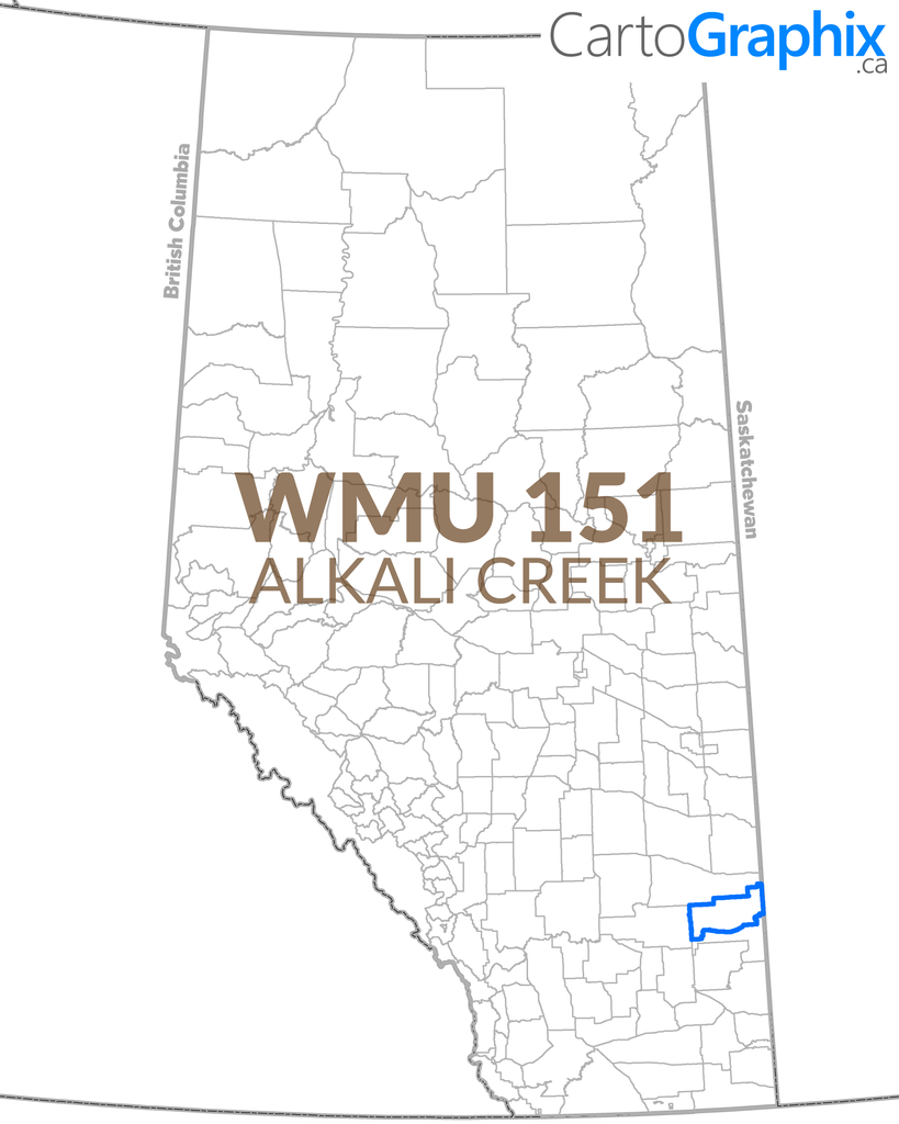 "WMU 151 Alkali Creek - 36""W x 24""H"
