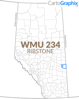 WMU 234 Ribstone Map