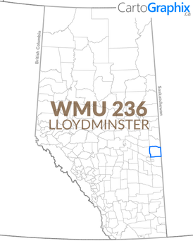 WMU 236 Lloydminster Map