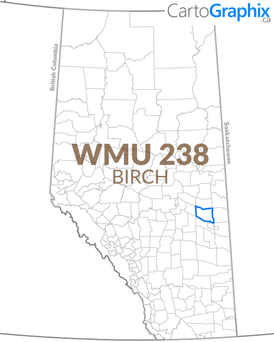 WMU 238 Birch Map