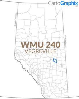 WMU 240 Vegreville Map