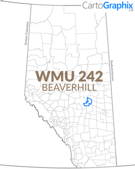 WMU 242 Beaverhill Map
