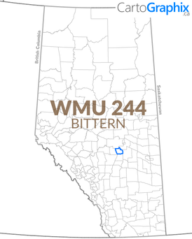WMU 244 Bittern Map