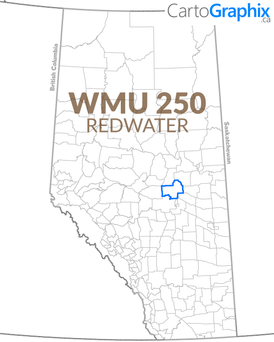WMU 250 Redwater Map
