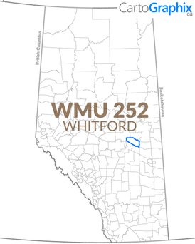 WMU 252 Whitford Map