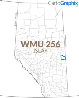 WMU 256 Islay Map