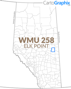 WMU 258 Elk Point Map