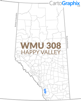 WMU 308 Happy Valley Map