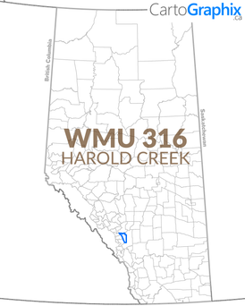 WMU 316 Harold Creek Map