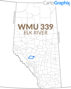 WMU 339 Elk River Map