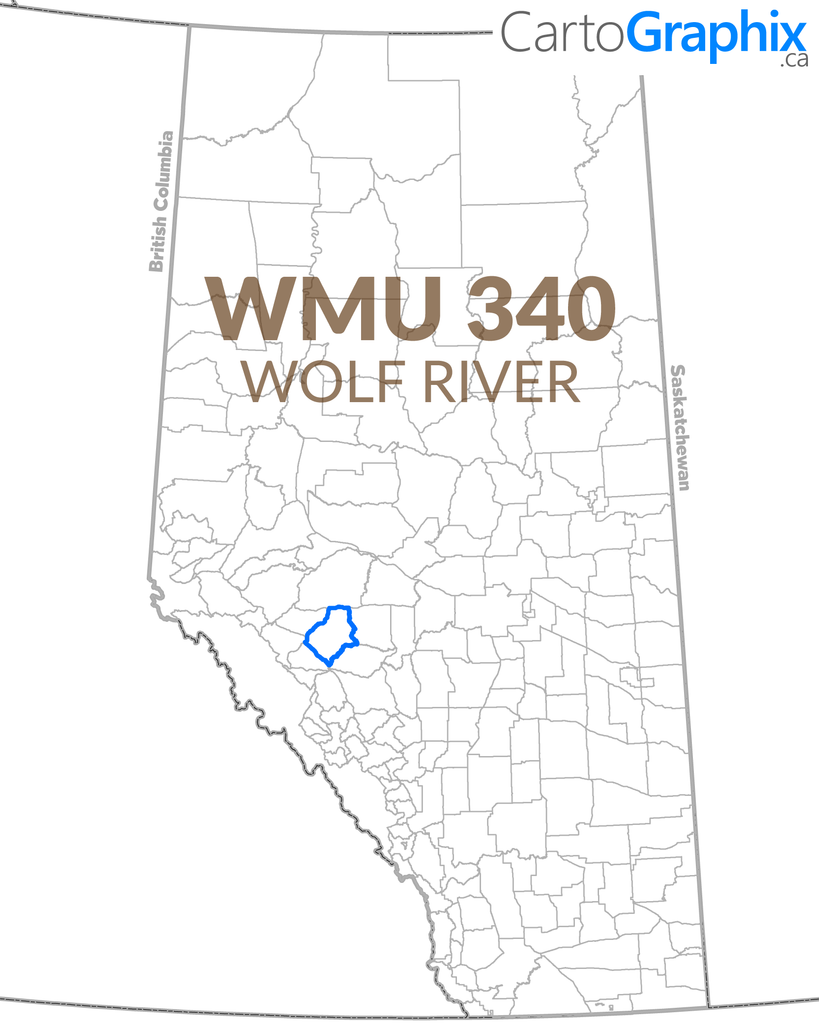 WMU 340 Wolf River Map