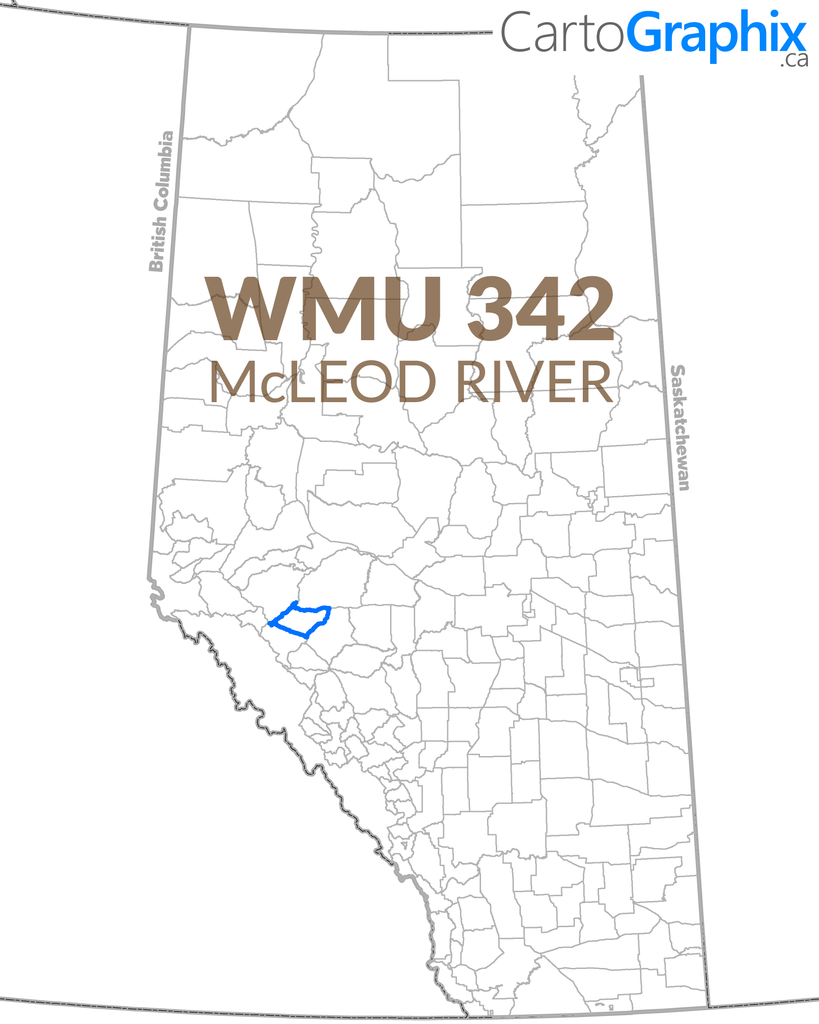 WMU 342 McLeod River Map