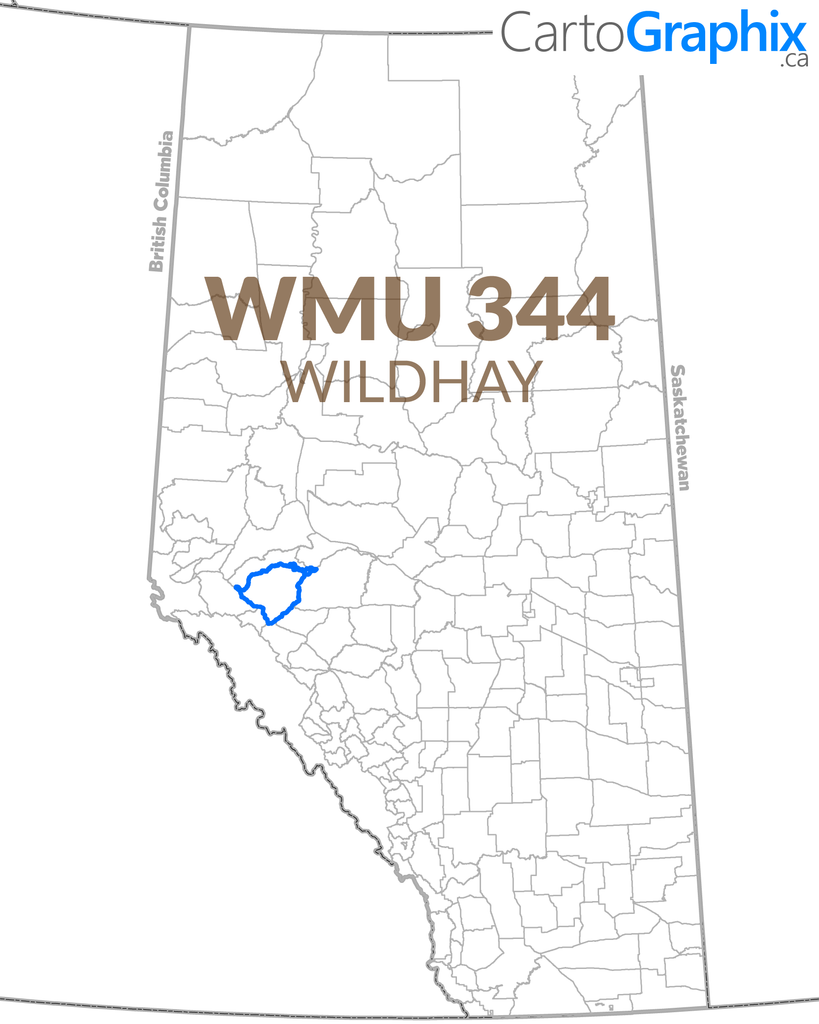 WMU 344 Wildhay Map