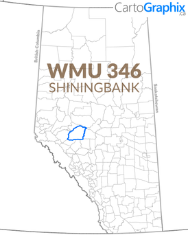 WMU 346 Shiningbank Map