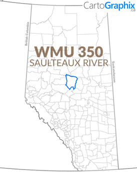 WMU 350 Saulteaux River Map