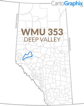 WMU 353 Deep Valley Map
