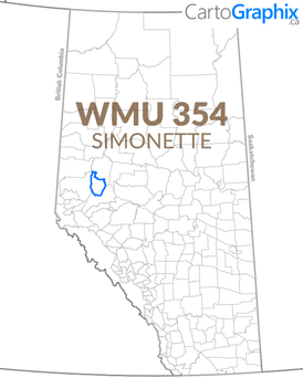 WMU 354 Simonette Map