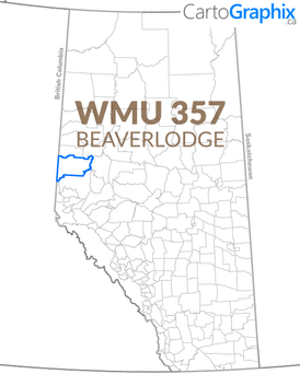 WMU 357 Beaverlodge Map