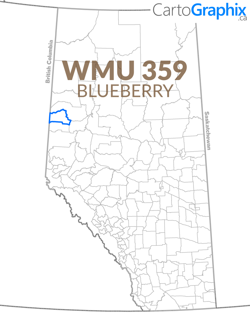 WMU 359 Blueberry Map