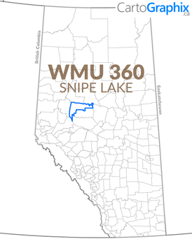 WMU 360 Snipe Lake Map