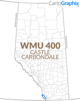 WMU 400 Castle-Carbondale Map