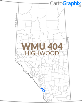 WMU 404 Highwood Map
