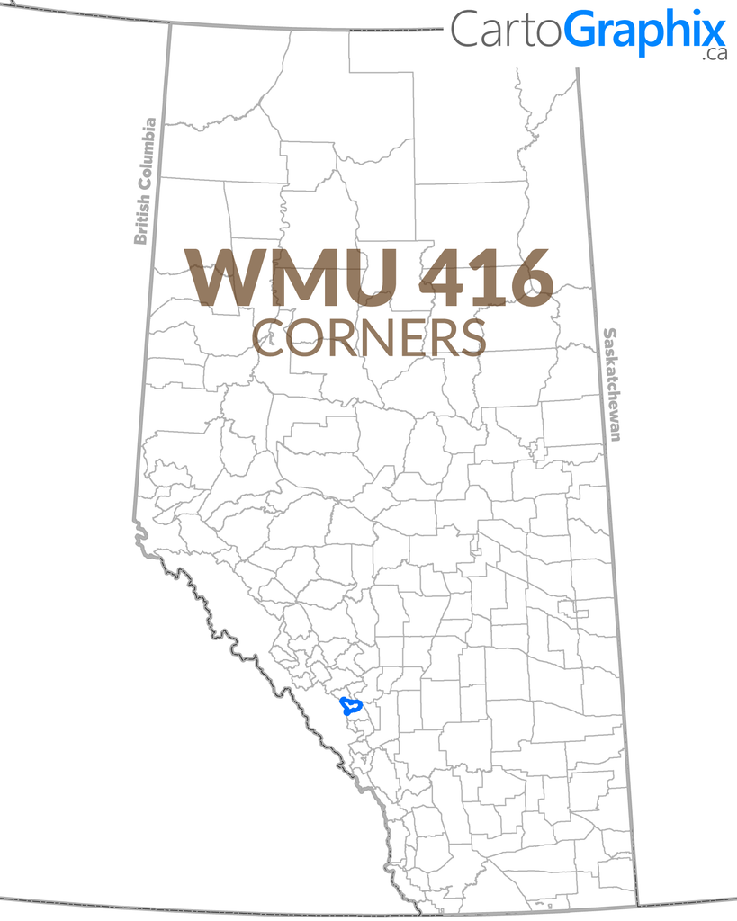 WMU 416 Corners Map