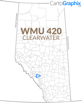 WMU 420 Clearwater Map