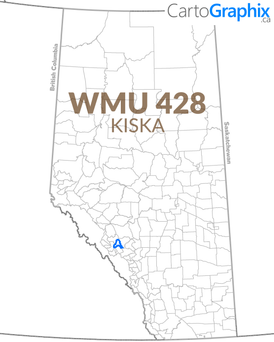 WMU 428 Kiska Map